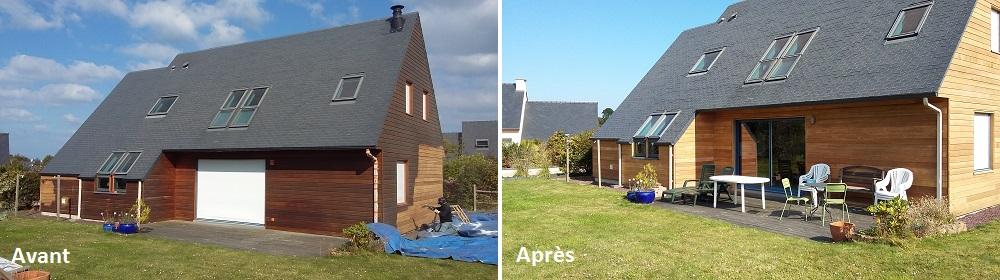 decapage-bardage-maison-bois-aerogommage-systeme