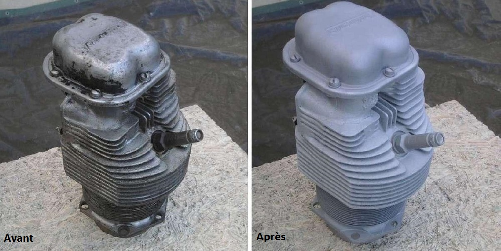 decapage-piece-mecanique-moteur-aerogommage-systeme